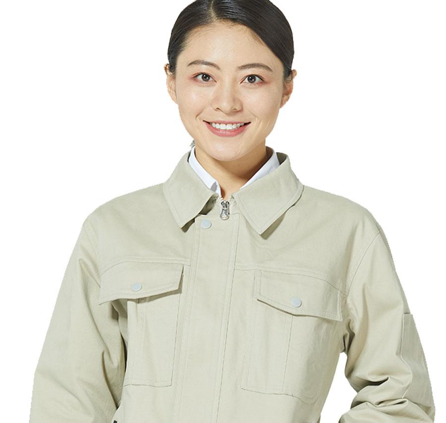 传统工作服秋季长袖夹克