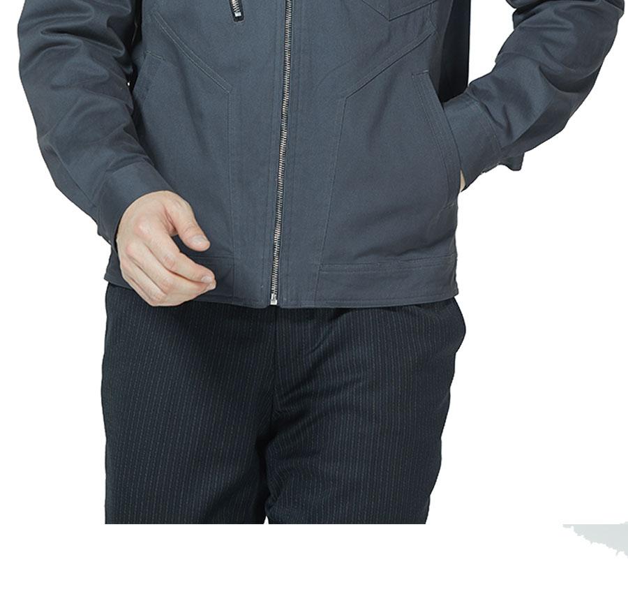 新款长袖纯棉工作服