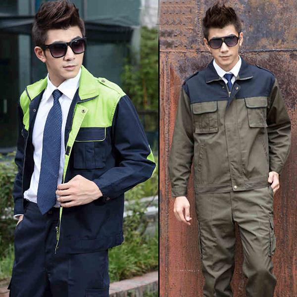 工作服穿着的颜色搭配-定做工作服厂家