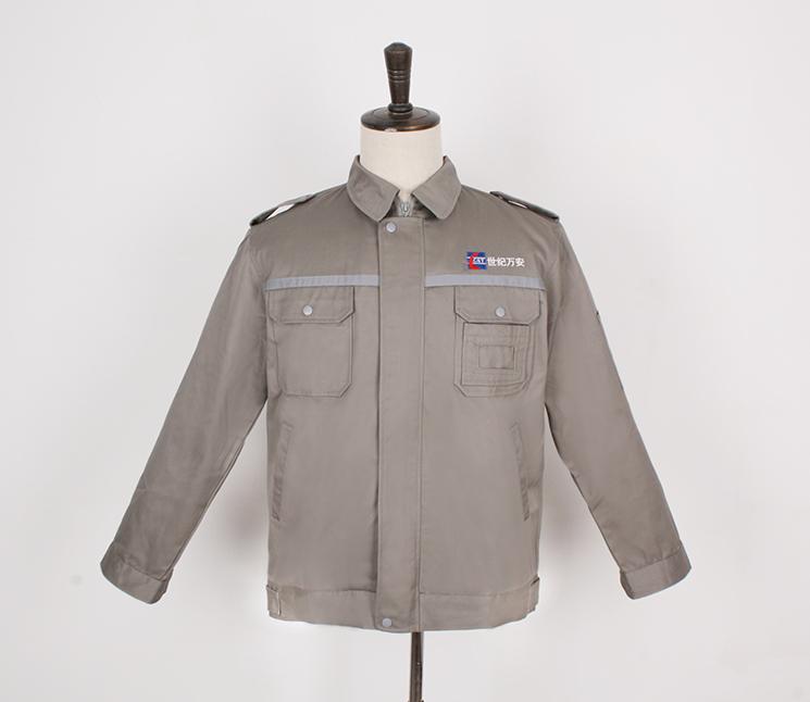 企业定制夏季工作服必须注意哪些事项-铁灰色夏季工作服